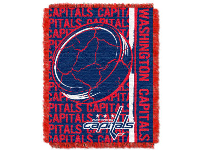 Washington Capitals The Northwest Company Double Play Jaquard Blanket