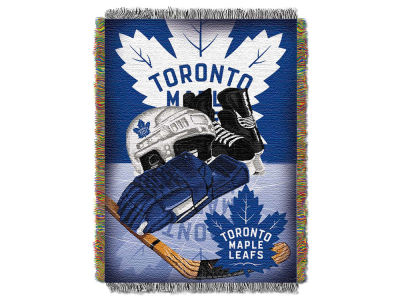 Toronto Maple Leafs The Northwest Company NHL Home Ice Advantage Tapestry Throw Blanket