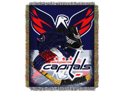 Washington Capitals The Northwest Company NHL Home Ice Advantage Tapestry Throw Blanket