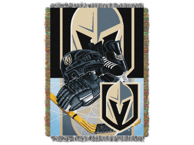 Vegas Golden Knights The Northwest Company NHL Home Ice Advantage Tapestry Throw Blanket