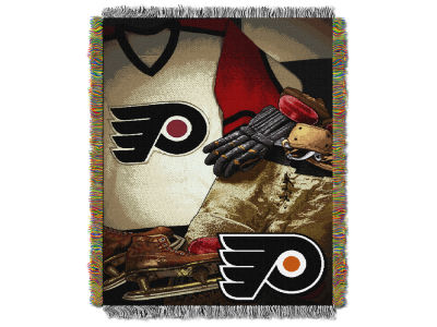 Philadelphia Flyers The Northwest Company Vintage Tapestry Throw Blanket