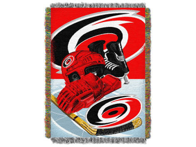 Carolina Hurricanes The Northwest Company NHL Home Ice Advantage Tapestry Throw Blanket