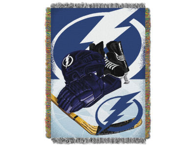 Tampa Bay Lightning The Northwest Company NHL Home Ice Advantage Tapestry Throw Blanket