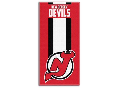 New Jersey Devils The Northwest Company Zone Read Beach Towel