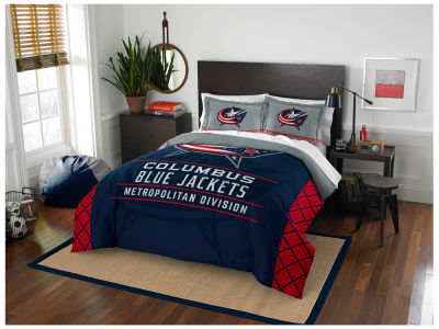 Columbus Blue Jackets The Northwest Company Draft Full/Queen Comforter Set