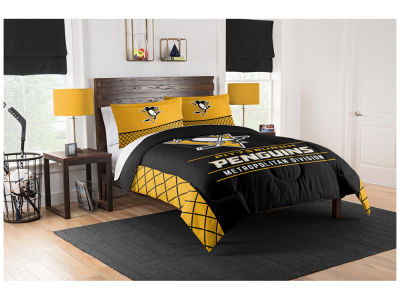 Pittsburgh Penguins The Northwest Company King Printed Comforter & Shams Set