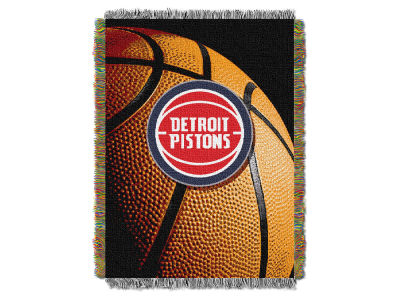 Detroit Pistons The Northwest Company NBA Photo Real Throw Blanket