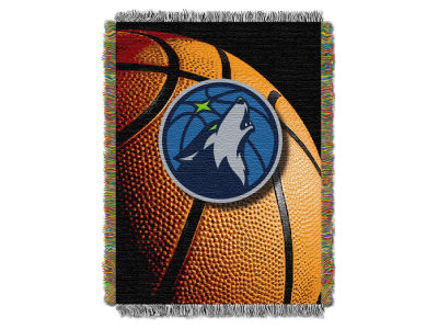 Minnesota Timberwolves The Northwest Company NBA Photo Real Throw Blanket