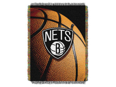 Brooklyn Nets The Northwest Company NBA Photo Real Throw Blanket