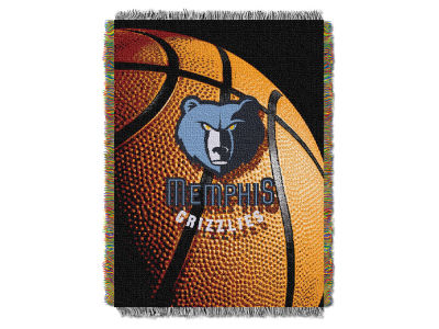 Memphis Grizzlies The Northwest Company NBA Photo Real Throw Blanket