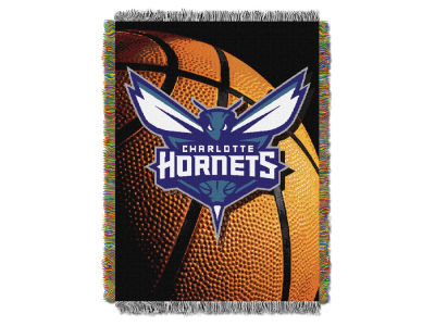 Charlotte Hornets The Northwest Company NBA Photo Real Throw Blanket