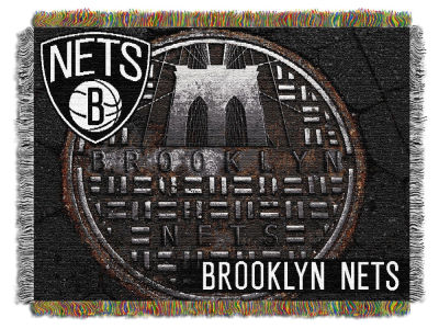 Brooklyn Nets The Northwest Company Commemorative Series Tapestry Throw Blanket