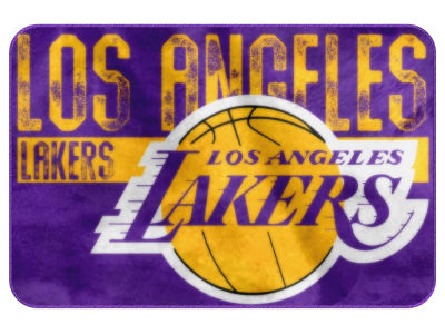 Los Angeles Lakers The Northwest Company Worn Out Foam Mat