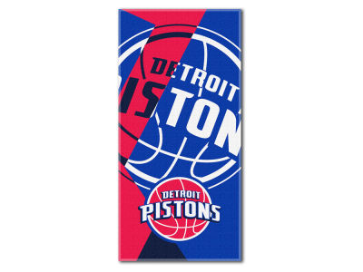 Detroit Pistons The Northwest Company Puzzle Beach Towel