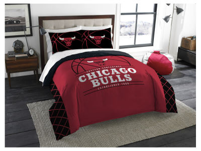 Chicago Bulls The Northwest Company Reverse Slam Full/Queen Comforters Set