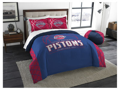 Detroit Pistons The Northwest Company Reverse Slam Full/Queen Comforters Set