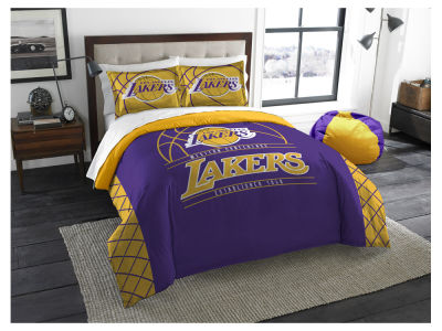 Los Angeles Lakers The Northwest Company Reverse Slam Full/Queen Comforters Set