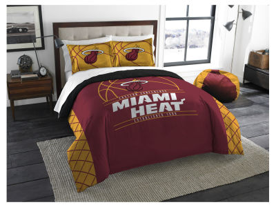 Miami Heat The Northwest Company Reverse Slam Full/Queen Comforters Set