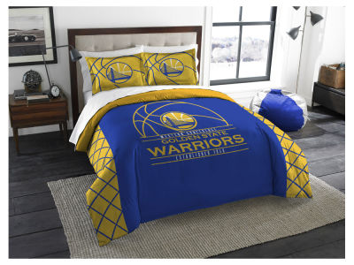 Golden State Warriors The Northwest Company King Printed Comforter & Shams Set