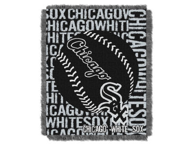 Chicago White Sox The Northwest Company Double Play Jaquard Blanket