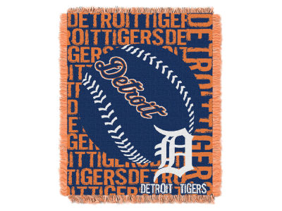 Detroit Tigers The Northwest Company Double Play Jaquard Blanket