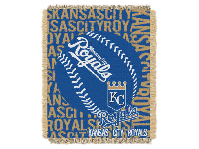Kansas City Royals The Northwest Company Double Play Jaquard Blanket