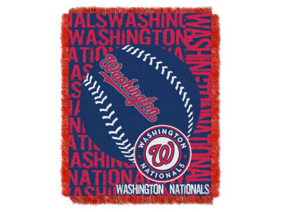 Washington Nationals The Northwest Company Double Play Jaquard Blanket