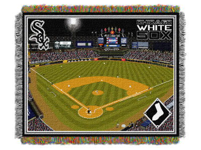 Chicago White Sox The Northwest Company MLB Stadium Tapestry Throw Blanket