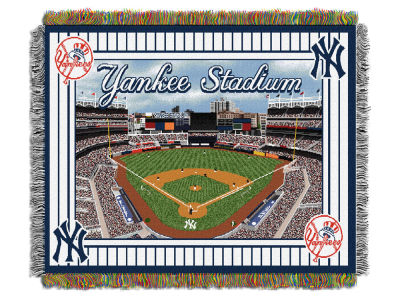 New York Yankees The Northwest Company MLB Stadium Tapestry Throw Blanket