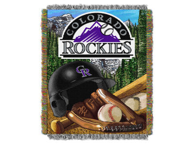 Colorado Rockies The Northwest Company Home Field Advantage Tapestry Throw Blanket