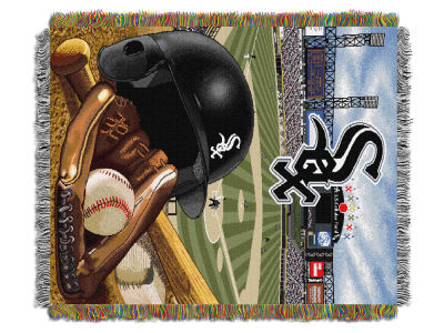 Chicago White Sox The Northwest Company Home Field Advantage Tapestry Throw Blanket