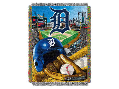 Detroit Tigers The Northwest Company Home Field Advantage Tapestry Throw Blanket