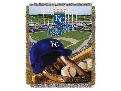 Kansas City Royals The Northwest Company Home Field Advantage Tapestry Throw Blanket