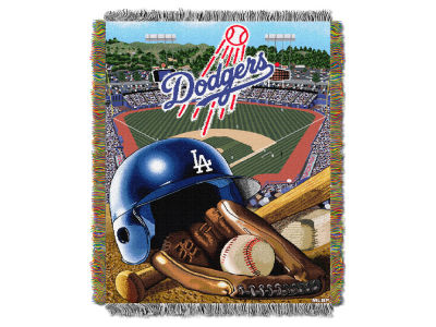 Los Angeles Dodgers The Northwest Company Home Field Advantage Tapestry Throw Blanket