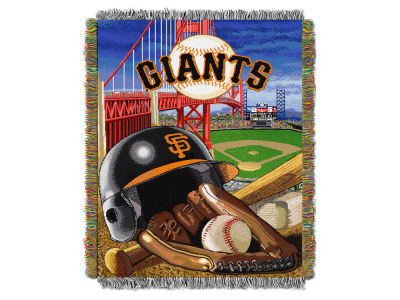 San Francisco Giants The Northwest Company Home Field Advantage Tapestry Throw Blanket