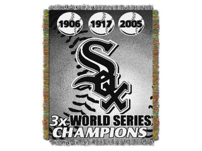 Chicago White Sox The Northwest Company Commemorative Series Tapestry Throw Blanket