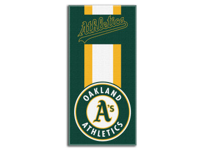 Oakland Athletics The Northwest Company Zone Read Beach Towel