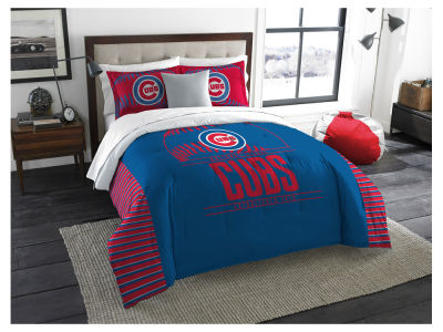 Chicago Cubs The Northwest Company King Printed Comforter & Shams Set