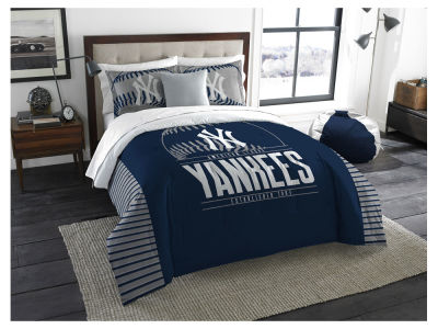 New York Yankees The Northwest Company King Printed Comforter & Shams Set