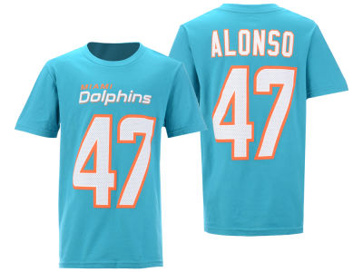 Miami Dolphins Kiko Alonso Nike NFL Youth Pride Name and Number 3.0 T-Shirt
