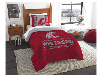 Washington State Cougars The Northwest Company Modern Take Twin Comforter Set