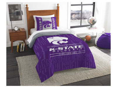 Kansas State Wildcats The Northwest Company Modern Take Twin Comforter Set