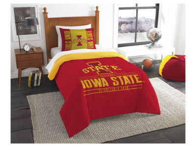 Iowa State Cyclones The Northwest Company Modern Take Twin Comforter Set