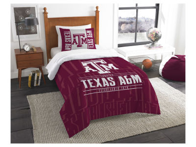 Texas A&M Aggies The Northwest Company Modern Take Twin Comforter Set