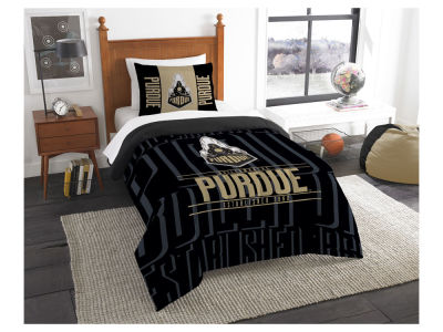 Purdue Boilermakers The Northwest Company Modern Take Twin Comforter Set