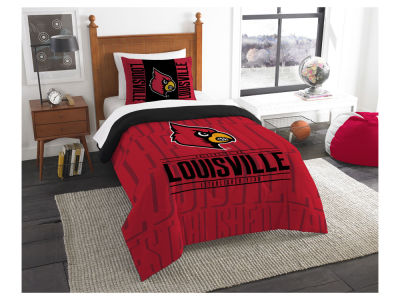 Louisville Cardinals The Northwest Company Modern Take Twin Comforter Set