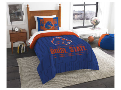 Boise State Broncos The Northwest Company Modern Take Twin Comforter Set