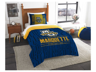 Marquette Golden Eagles The Northwest Company Modern Take Twin Comforter Set