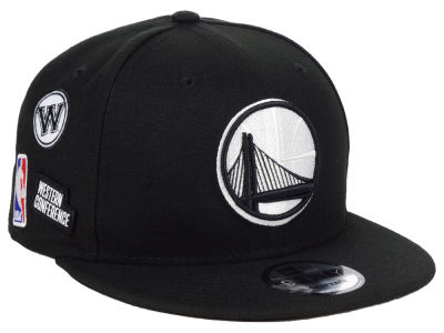 Golden State Warriors New Era NBA Night Sky 9FIFTY Snapback Cap