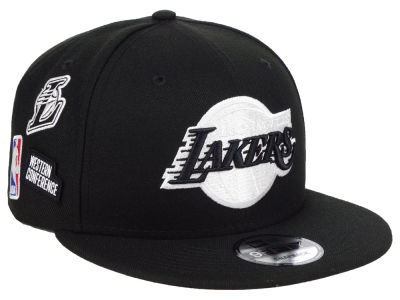 Los Angeles Lakers New Era NBA Night Sky 9FIFTY Snapback Cap